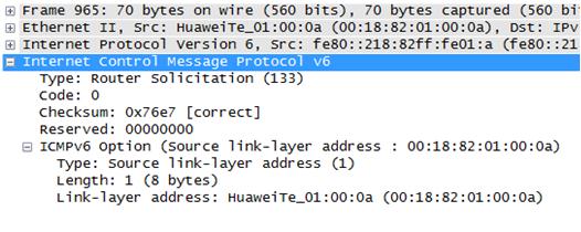《IPv6安全--邻居发现协议》